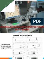 Anormalidades de Los Elementos Formes.ppt