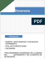 TanatologíaDistanasia