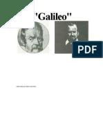 Cavani Liliana - Galileo (Guion de La Pelicula)