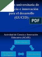 Gestión universitaria de la ciencia e innovación para
