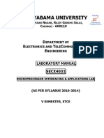 Microprocessor Labmanual