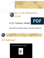 Final Literacy in the Humanities 2