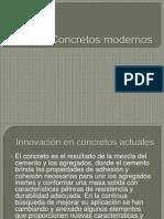 Concretos modernos