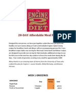 Engine 2 Affordable Meal Plan