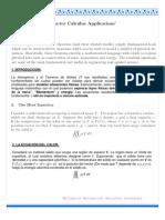 Cálculo Vectorial_Aplicaciones