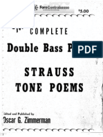 Zimmerman - The Complete Double Bass Parts Strauss Tone Poems