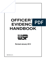 Officers Evidence Handbook