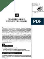 L-28 Major Religious Communities in India