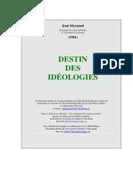 Meynaud Destin Ideologies