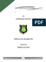 Modulo Geometria Ciclo IV Grado Octavo
