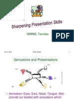Sharpening Presentation Skills