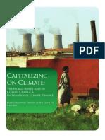 capitalizing on climate