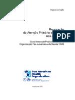 Renovação da Atenção Primária em Saúde nas Américas_Agosto de 2005