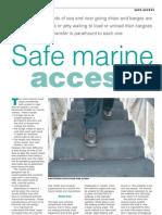Tank Storage Marine Gangway Article