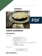 Tarta Guinness