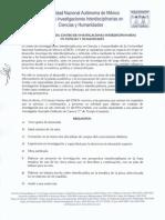 Convocatoria Plazas Nuevas en el CEIICH, UNAM