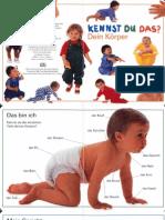 Koerper-német nyelvű gyerekkönyv