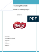 Nestle Project - Accounts
