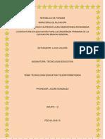 Tecnologia Educativa Teleinformatizada 2