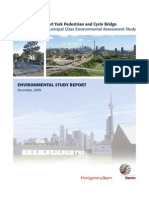 Environmental Study Report - Fort York Pedestrian & Cycle Bridge