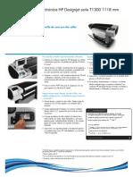 HP Designjet T1300 Postscript
