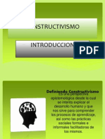 introduccion constructivismo