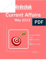 Current Affair May 2013 En