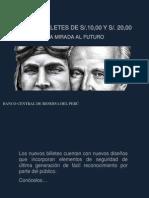 NUEVOS BILLETES - 10 y 20 SOLES - PERÚ