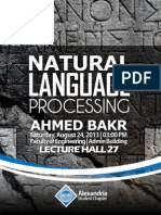 Alexandria ACM SC | Introduction to Natural Language Processing