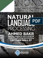 Alexandria ACM SC | Introduction to Natural Language Processing