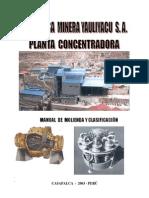 Manual Molienda-Clasificacion de Minerales