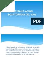 LA ESTANFLACIÓN ECUATORIANA DEL 2002