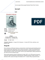 Alexandru Lahovari - Enciclopedia României - prima enciclopedie online despre România