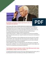 Entrevista Al Doctor Rodolfo Llinas