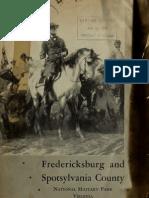Fredericksburg and Spotsylvania County National Military Park Virginia