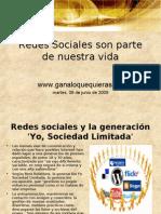 Redes Sociales Son Parte de Nuestra Vida