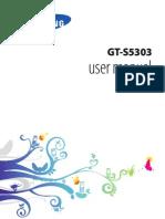 Samsung Galaxy Y Plus S5303 User Manual