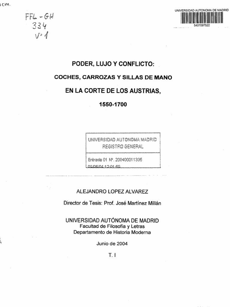 Lopez Alvarez Alejandro - Poder Lujo Y Conflicto en La Corte de Los ...