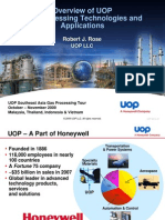 1 Overview of UOP Gas Processing Technologies and Applications