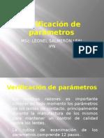 05 VERIFICACIÓN DE PARÁMETROS