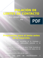 07 MANIPULACIÓN DE LENTES DE CONTACTO