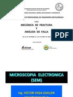 Microscopia Electronica, Ing. Vega