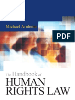 The Handbook of Human Rights Law - 0749434988