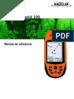 Manual de Magellan explorist 100 en español