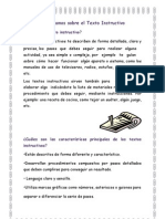 01Aprendamos Sobre El Texto Instructivo