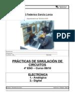 Practicas Simulacion - Electronica Analogica-digital