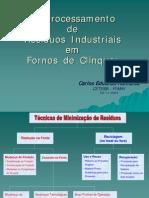 Co-processamento de Residuos Industriais