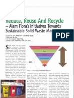 Reduce Reuse Recycle by Alam Flora Campaign