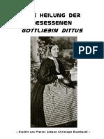 DIE HEILUNG DER BESESSENEN GOTTLIEBIN DITTUS