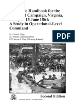 Staff Ride Handbook for the Overland Campaign, Virginia, 4 May to 15 June 1864